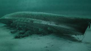 Sunken HMS Royal Oak