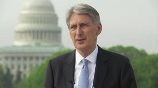Philip Hammond in Washington