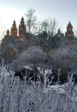 Frosty river kelvin