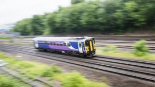 Train in Leeds
