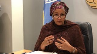 संयुक्त राष्ट्रसंघकी सहमहासचिव अमिना महमद
