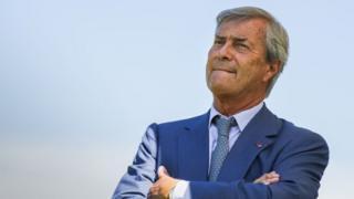 L'homme d'affaires français Vincent Bolloré