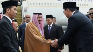 Raja Salman dan Ahok