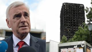 John McDonnell and the Grenfell Tower