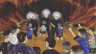गुहेत अडकलेल्या मुलांसाठी प्रार्थना