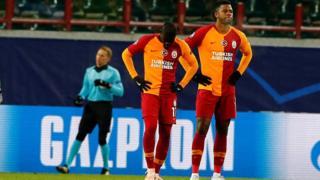 Rusya'nın Lokomotiv Moskova takımına 2-0 mağlup olan Galatasaray