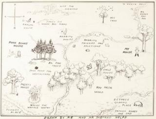 рисунок карты