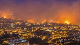 пожары на Мадейре