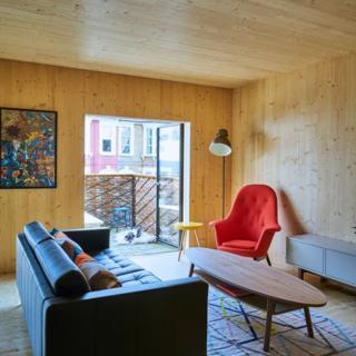 Interior de un apartamento en Barrett's Grove