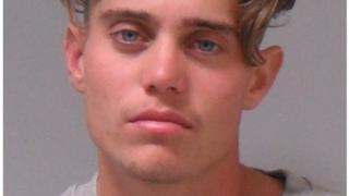 Alex Hepburn police mugshot