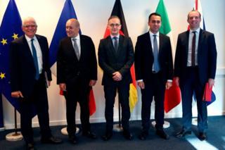 وزراء خارجية أوروبا