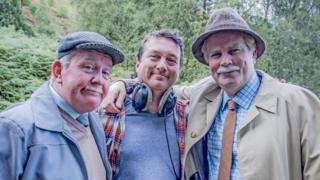 Ford Kiernan, Greg Hemphill and Michael Hines