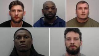 Nicky Barnes, Ben Ukaegbu, Daniel Lowe, Michael Etuhu, John Bishop