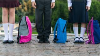 school uniforms generic picture