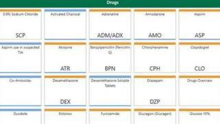 Exmaple of the drugs guidance for paramedics