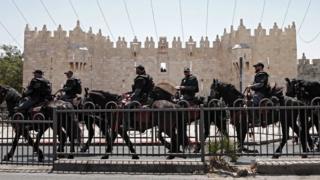 Aparat keamanan Israel