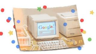 Doodle do 21º aniversário do Google