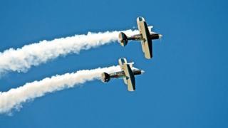 The Wildcats Aerobatics team