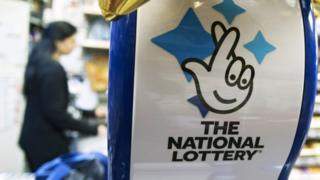 A National Lottery logo