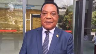 Dr Augustine Mahiga,Waziri wa Mambo ya Nje, Tanzania