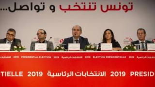 مؤتمر صحفي للهيئة العليا المستقلة للانتخابات في تونس بشأن نتائج الانتخابات الرئاسية 2019