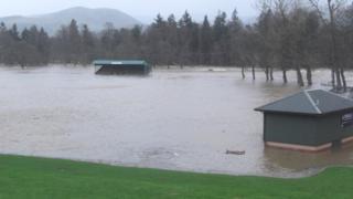 Floods in Peebles