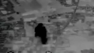خبرگزاری صدا و سیما فیلمی منتشر کرده که میگوید لحظه برخورد موشکهای سپاه است به اهداف از پیش تعیین شده است
