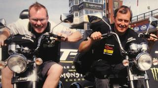 Milky Quayle and John McGuinness
