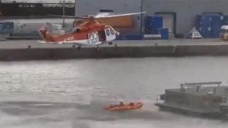 Aberdeen Harbour rescue