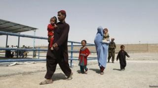 برگشت مهاجران افغان از پاکستان