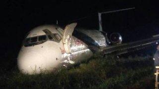 L'avion victime du crash