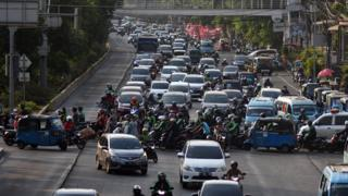 Kemacetan Jakarta.