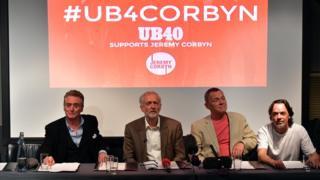 Jeremy Corbyn and UB40