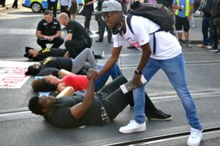 Black Lives Matter campaigners