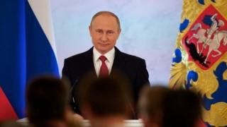 ولادمیر پوتین، رئیس جمهور روسیه