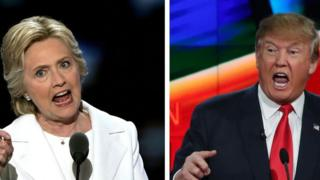 Hillary Clinton ve Donald Trump