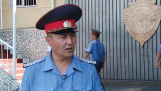 Ош шаардык ички иштер башкармалыгынын басма сөз катчысы Замир Сыдыков