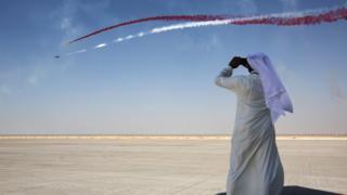 Авиашоу в Дубаи