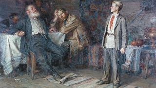 "Картина Никиты Чебакова ""Павлик Морозов"", 1952 год"