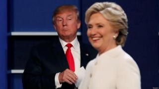 Les sondages sont serrés, même s'ils sont favorables à Hillary Clinton, qui a pour principal adversaire Donald Trump.