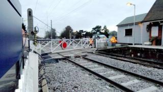 Elsenham level crossing