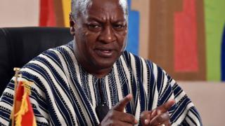 Ghana's President John Mahama