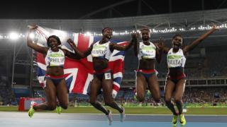 Atletas britânicas