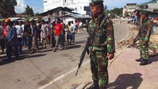 tentara di Ambon.
