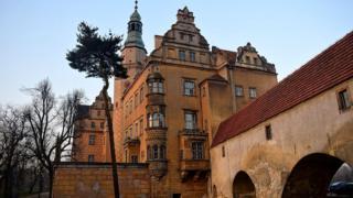 Один из замков Нижней Силезии