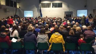 Public consultation in Enniskillen