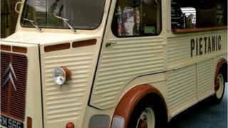 The van which has been stolen