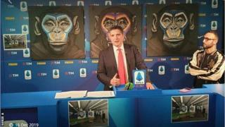 Serie A news conference