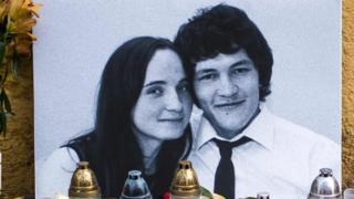 Jan Kuciak y Martina Kusnirova