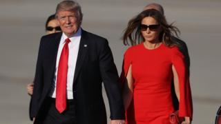 Trump çifti